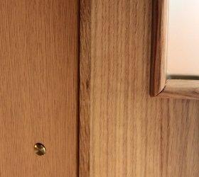 Detalle interior puerta armario Mod. Padrón